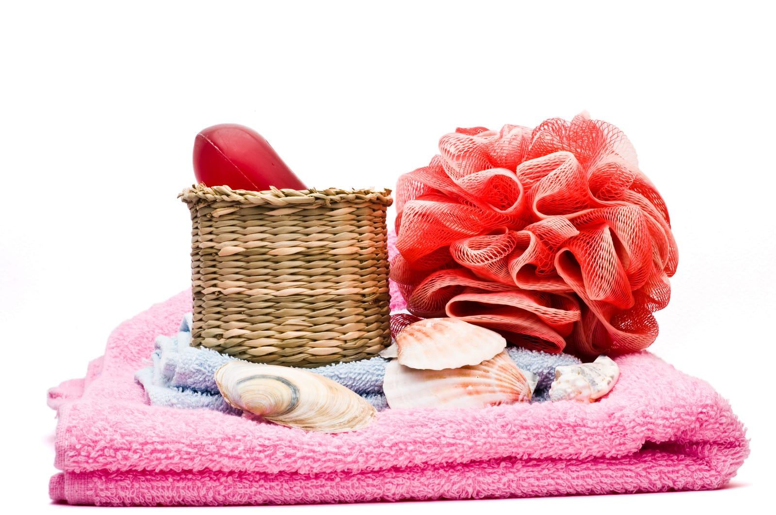 badkamer accessoires rood