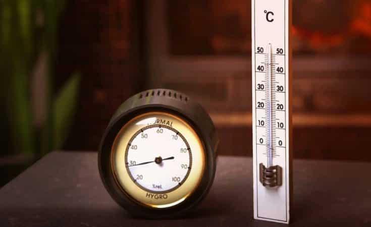 luchtvochtigheid in huis meten