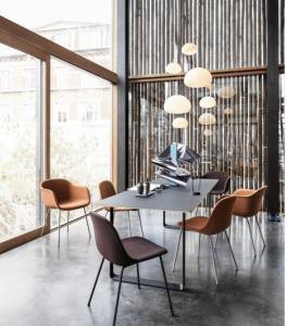 Scandinavisch design stoelen muuto