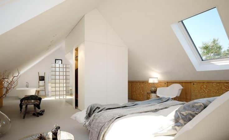 zolder inrichten slaapkamer schuindak