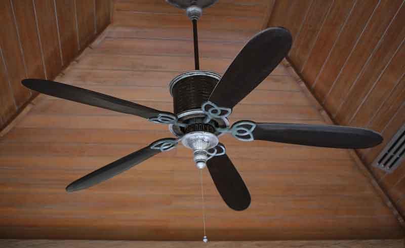 geruisloze plafond ventilator