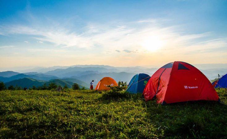 single camping vakantie
