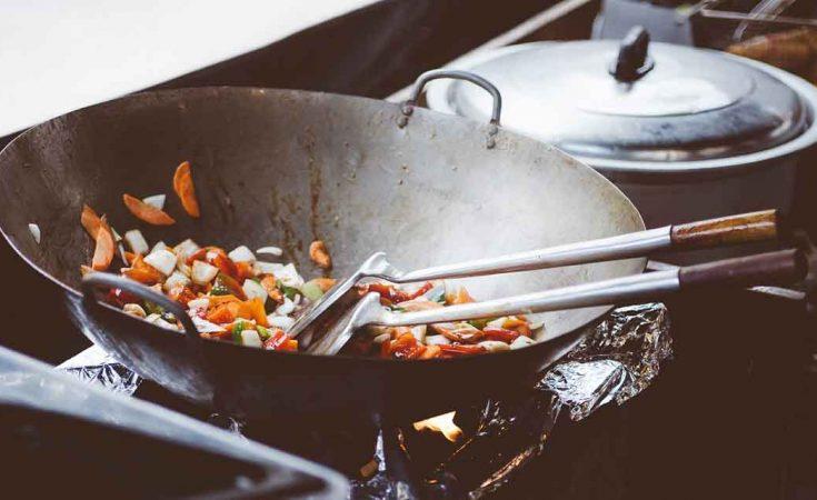 kookluchtjes verwijderen na het wokken