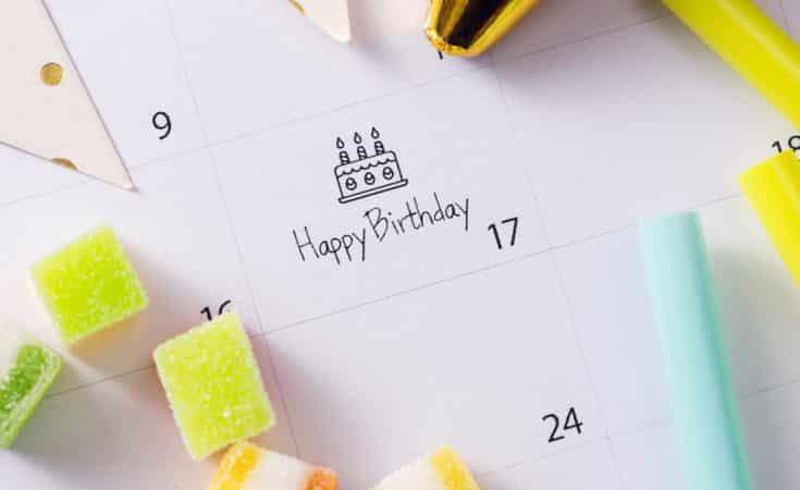 tips verjaardagskalender zelf maken